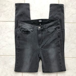 PAIGE Jeans Hoxton Ultra Skinny Smoke Grey